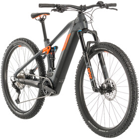 Cube Stereo Hybrid 120 Race 625, grey'n'orange